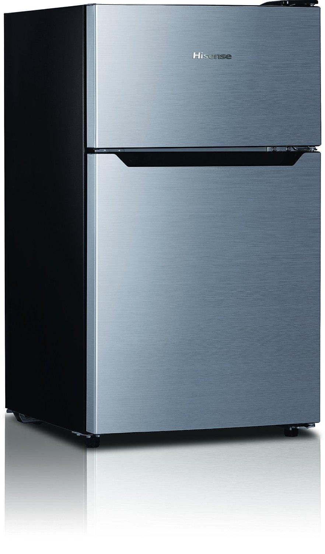 Hisense RT33D6AAE Compact Refrigerator Review - browngoodstalk.com