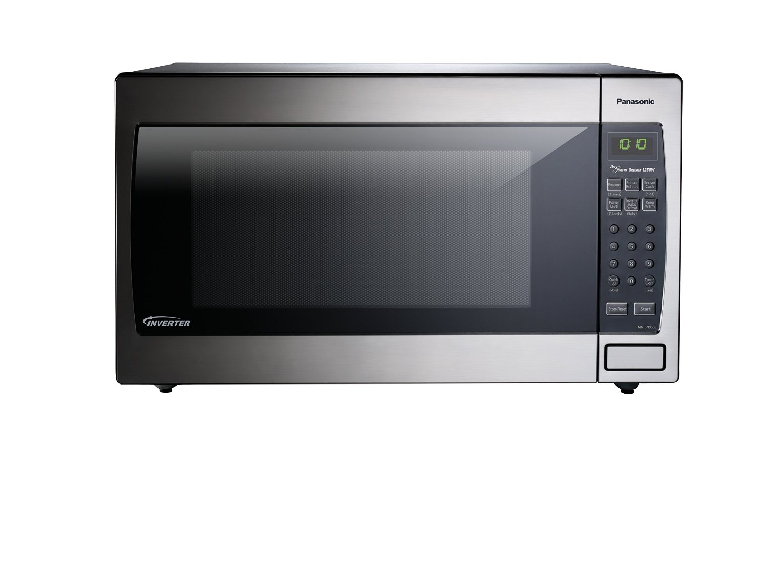 Panasonic Nn Sn966s Countertop Built In Microwave With Inverter Technology Review