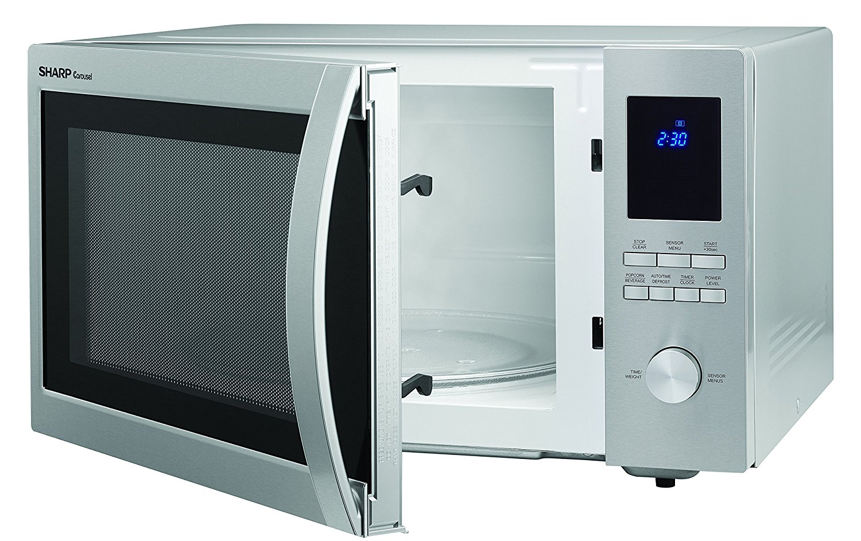 Sharp ZSMC1655BS Microwave Oven Review - browngoodstalk.com